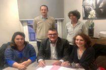 Magnanville : signature de la convention de gestion de la parcelle en éco-pâturage