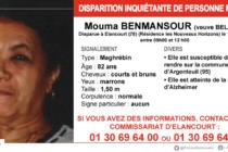 Yvelines : appel à témoins après la disparition de Mouma Benmansour à Élancourt