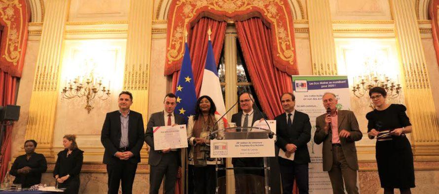 Mantes-la-Jolie : la Ville reçoit le Prix Cadre de Vie des Trophées Éco Actions 2019