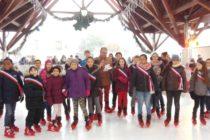 Limay : profitez de la patinoire sous la halle du marché