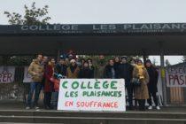 Mantes-la-Ville : 90% des profs en grève au collège Les Plaisances