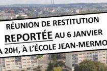 Mantes-la-Jolie : report de la réunion de restitution des ateliers participatifs de proximité