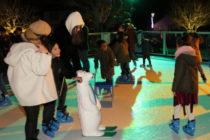 Buchelay : une patinoire dans le parc de la mairie pendant un mois