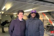 Mantes-la-Jolie : le Ministre Julien Denormandie visite LS Auto Services