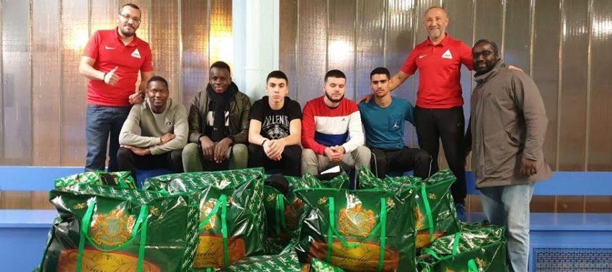 IFEP Mantes-Limay : 300 kg de produits pour un orphelinat au Maroc
