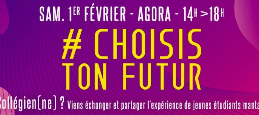 Choisis Ton Futur : échanges étudiants-collégiens à Mantes-la-Jolie le 1er février