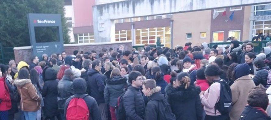 Nouveau Bac : blocus au lycée Condorcet de Limay