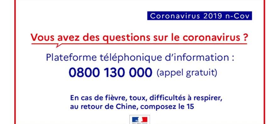 COVID-19 : les informations et recommandations concernant le nouveau coronavirus
