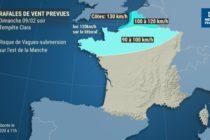 Yvelines – Tempête Ciara : des rafales de vent de 90 à 110 km/h les 9 et 10 février