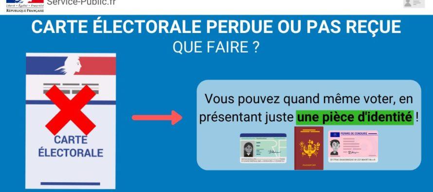 Élections Municipales : pour voter, une pièce d'identité suffit si vous ne trouvez pas votre carte électorale