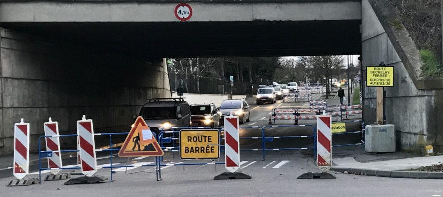 Mantes-la-Jolie : la rue de Buchelay fermée dans un sens jusqu'au 19 février