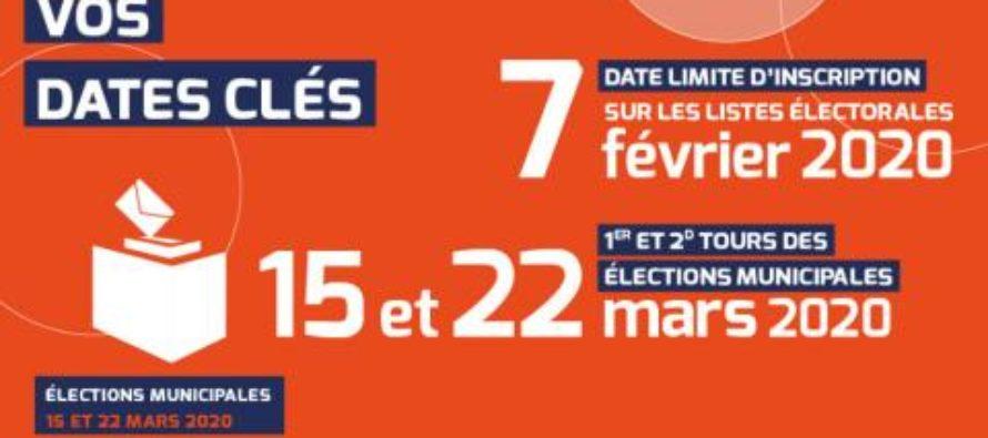 Municipales 2020 – Listes électorales : fin des inscriptions le 7 février inclus