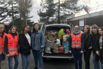 Mantes-la-Jolie – Lycée Rostand : des élèves collectent des vêtements pour la Croix-Rouge
