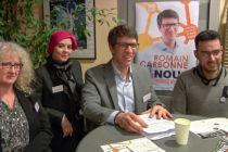 Municipales à Mantes-la-Ville : candidat «Nous Mantevillois», Romain Carbonne a présenté ses voeux