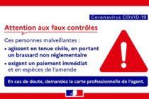 Coronavirus : attention aux faux contrôles d'attestation