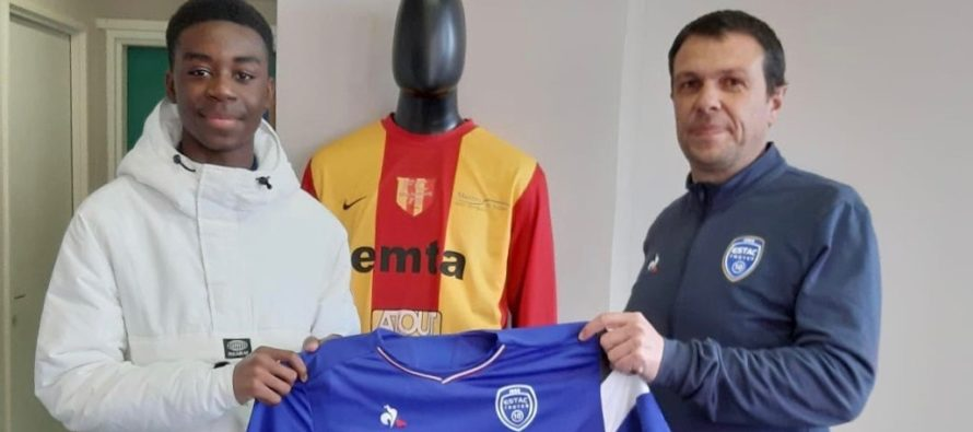 Foot – U14 FC Mantois : Emmanuel Lubanzadio Lubaki signe à Troyes