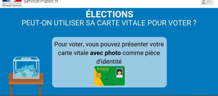Municipales 2020 : vous pouvez voter avec votre carte vitale