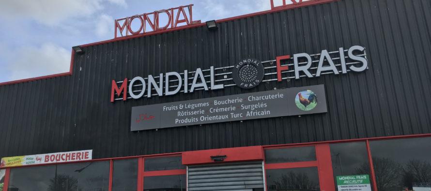 Buchelay : incendie criminel au magasin Mondial Frais