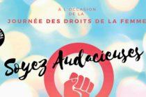 Journée des droits des femmes : participez au débat «Soyez Audacieuses» à l'Espace Brassens