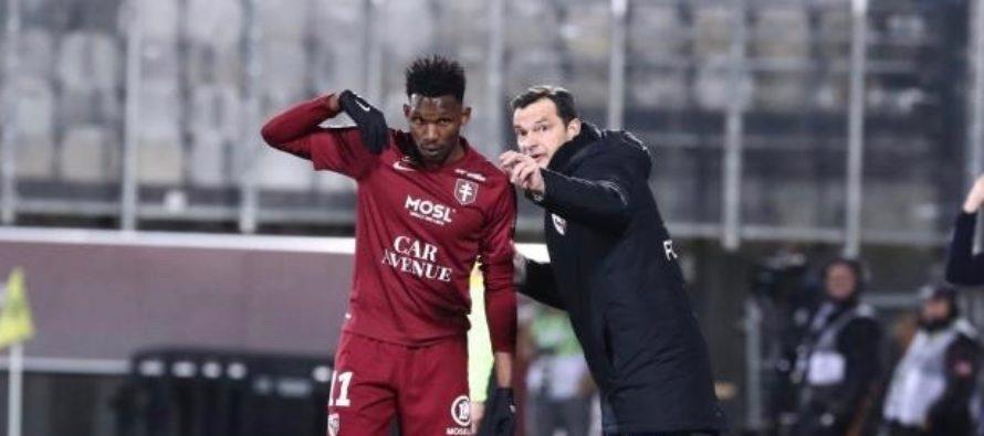 Foot – L1 – 28e J : le Mantais Opa Nguette buteur avec Metz face à Nîmes