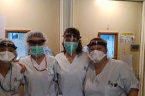 Coronavirus : Yann Verdier offre 30 visières à l'hôpital de Mantes-la-Jolie