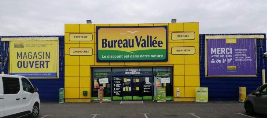 Bureau Vallée Mantes-Buchelay : réouverture du magasin lundi 27 avril