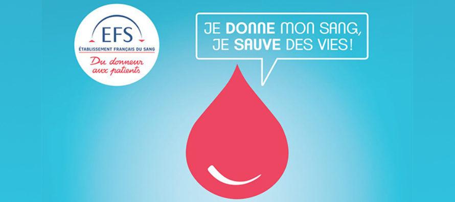 Mantes-la-Jolie : donnez votre sang pour sauver des vies le 19 avril