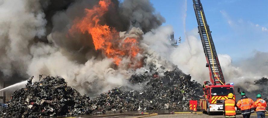Port autonome de Limay : nouvel incendie sur le site de GDE