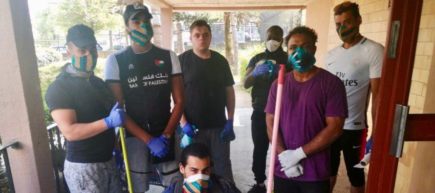 Mantes-la-Ville : les jeunes des Plaisances mobilisés dans la lutte anti-Covid-19