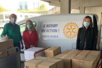 Covid-19 : le Rotary Club de Mantes-la-Jolie a soutenu les soignants de l'hôpital François Quesnay