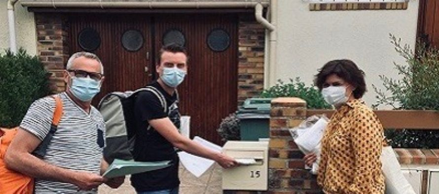 Magnanville : la ville a fourni des masques aux habitants