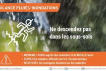 Alerte Météo : le département des Yvelines placé en vigilance orange pluie-inondation
