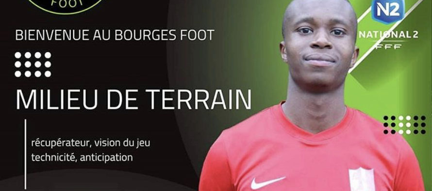 Foot – Mercato – FC Mantois : Demba Diallo signe à Bourges Foot (National 2)