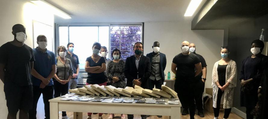 Coronavirus à Mantes-la-Ville : le conseil départemental des Yvelines offre 3 000 masques aux associations