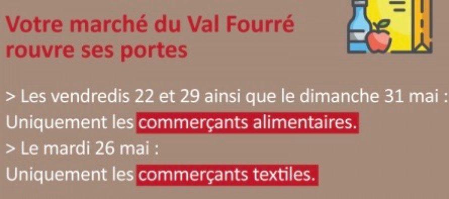 Mantes – Marché du Val Fourré : commerçants alimentaires les 22, 29 et 31 mai