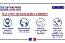 Municipales 2020 – 2ème Tour : le port du masque sera obligatoire pour voter le 28 juin