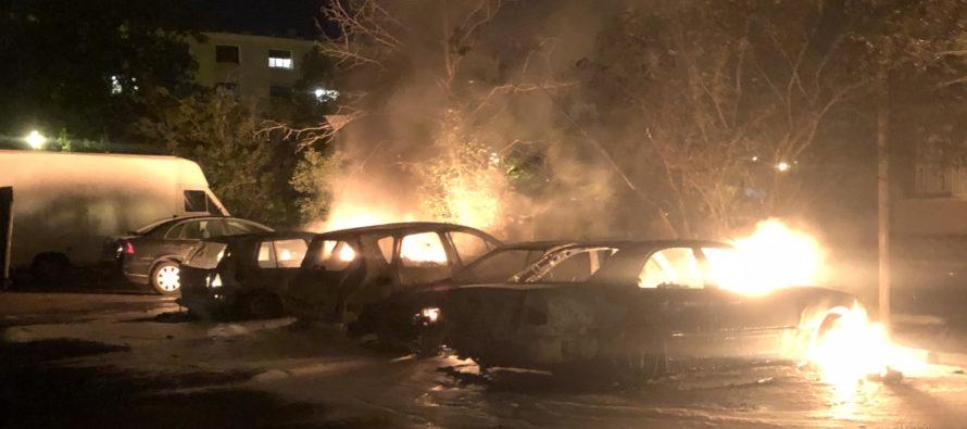 Violences à Mantes-la-Jolie : quatre véhicules incendiés, un adolescent de 16 ans interpellé