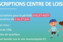 Mantes-la-Jolie : inscriptions pour les centres de loisirs du 2 au 27 juin