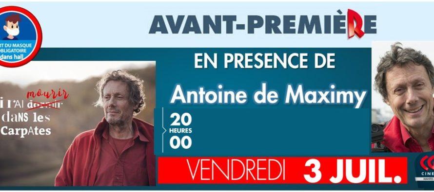 Mantes-la-Jolie : Antoine De Maximy au CGR le 3 juillet pour son film «j'irai mourir dans les Carpates»