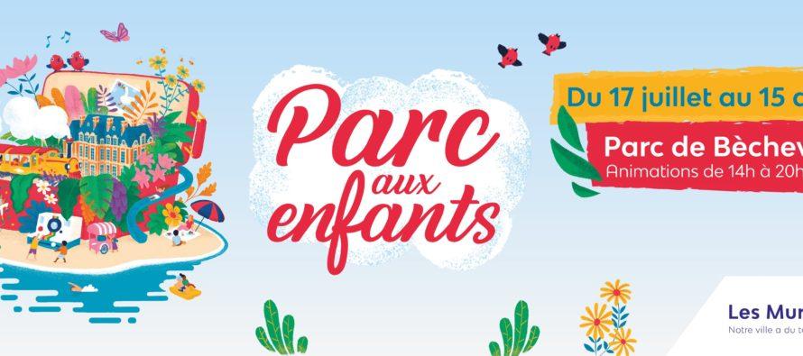 Les Mureaux : animations et activités pour les 2-11 ans au Parc de Bècheville jusqu'au 15 août