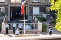 Yvelines : les gendarmes ont rendu hommage à Mélanie Lemée