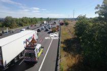 A13 Aubergenville : l'accident grave a fait 2 morts et 4 blessés
