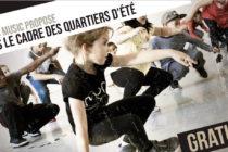 Diam's Music : stage de danse hip-hop gratuit du 13 au 17 juillet au Centre Chopin