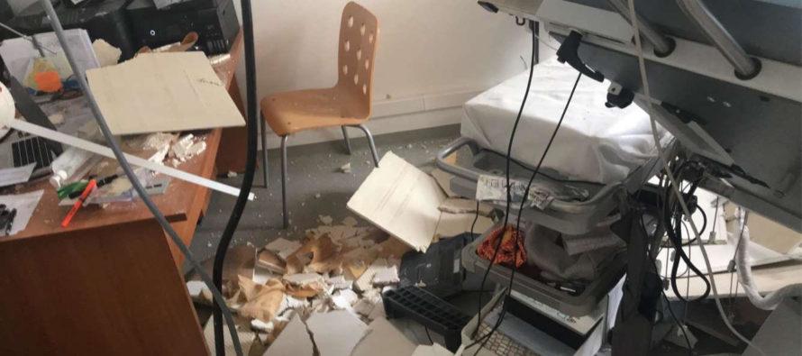 Polyclinique Mantaise : le plafond s'effondre sur une patiente et un cardiologue