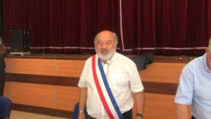 Porcheville (Yvelines). Vendredi 3 juillet 2020. Didier Martinez a été réélu maire.  Crédit Photo Mantes Actu.