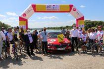 Tour de France à Mantes-la-Jolie : Christian Prudhomme en visite pour la dernière étape