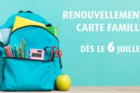 Carte Famille à Mantes-la-Jolie : les renouvellements débuteront le 6 juillet
