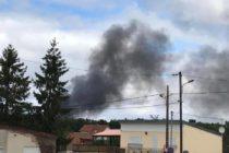 Guernes : incendie dans un entrepôt de stockage de produits