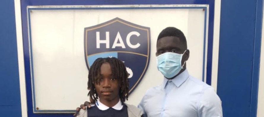 Foot – FC Versailles : le jeune Daren Nbenbege fait sa rentrée au Havre