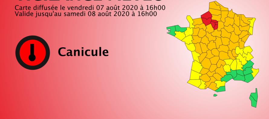 Alerte Météo : attention, Les Yvelines en vigilance rouge canicule